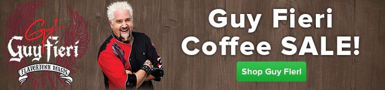 Buy Guy Fieri Coffee Marvel, American Diner, Redwood, Unleaded, West Coast, Bananas Foster, Chocolate Mint