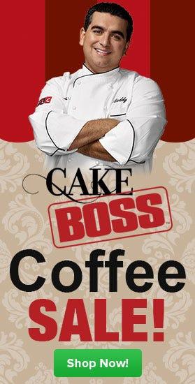 Shop Cake Boss Single Cup Coffee Sale, Buddy's Blend, Chocolate, Fudge, Cannoli, Hazelnut, Vanilla Buttercream
