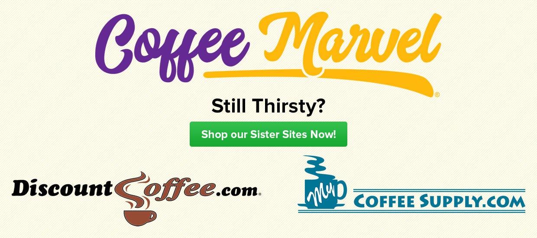 Shop DiscountCoffee.com, MyCoffeeSupply.com, Coffee, Tea, Hot Cocoa, Cappuccino Beverages