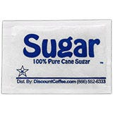 Brand Sugar Packets, 100% Pure Cane Granulated Sugar Sweetener.