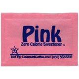 Sweet n'Low Brand Artificial Sweetener Packets, Pink Packets, Saccharin Zero Calorie Sweeteners.