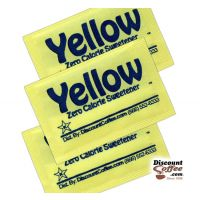 Yellow Packets Zero Calorie Sweetener | Compare Splenda Brand, Save! Sucralose Artificial Sweeteners, Gluten Free, Kosher.