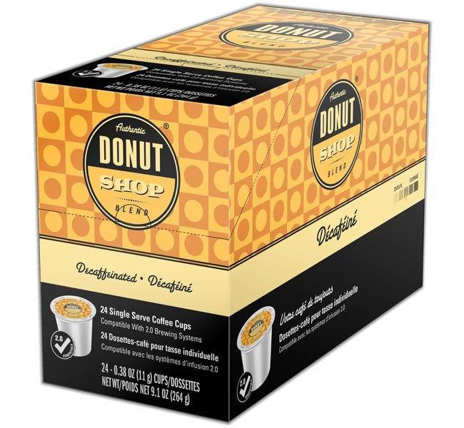 Authentic Donut Shop Blend Decaffeinated Medium Roast 24ct