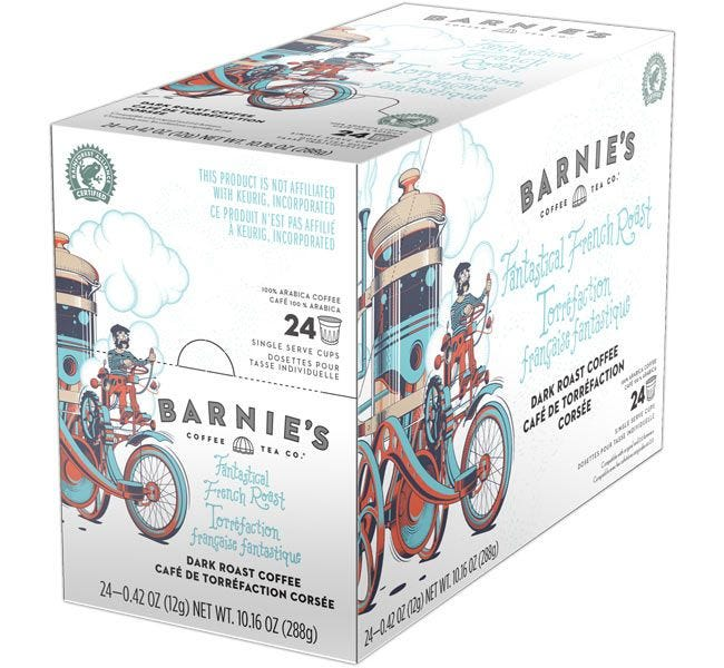 Barnie's French Roast 24ct