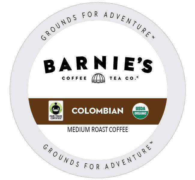 Barnie's Fair Trade Organic Colombian Medium Roast 24ct