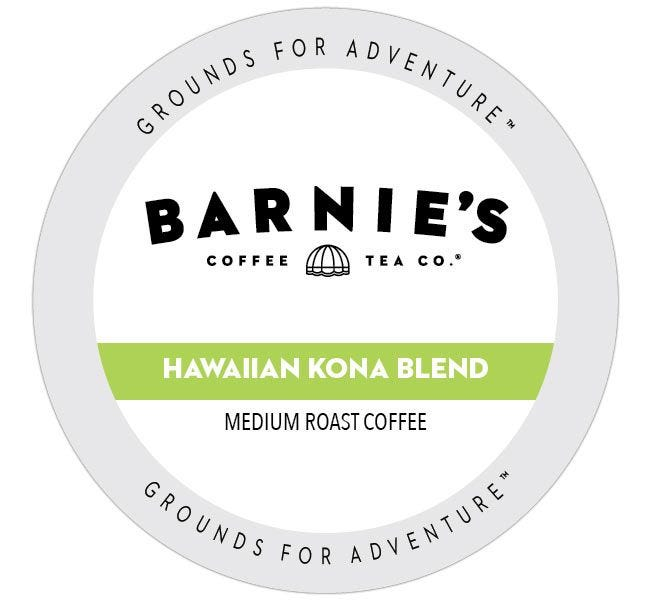 Barnie's Kona Blend Medium Roast 24ct