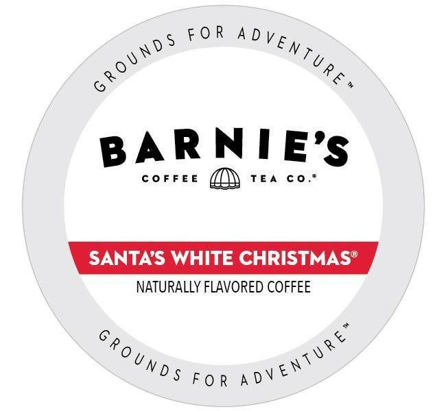 Barnie's Santa's White Christmas Medium Roast 24ct