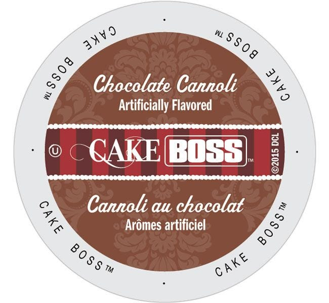 Cake Boss Chocolate Cannoli 24ct