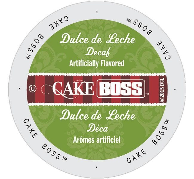 Cake Boss Dulce de Leche Decaf 24ct