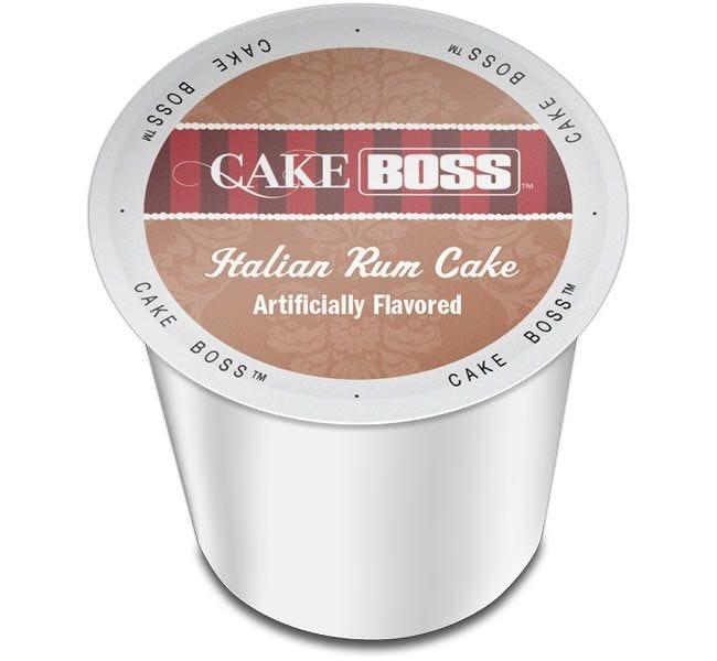 Cake Boss Italian Rum Cake 24ct