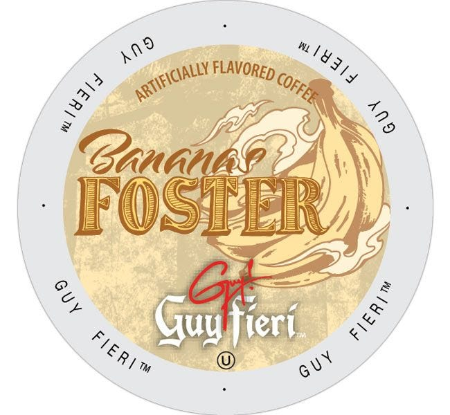 Guy Fieri's Bananas Foster Medium Roast 24ct