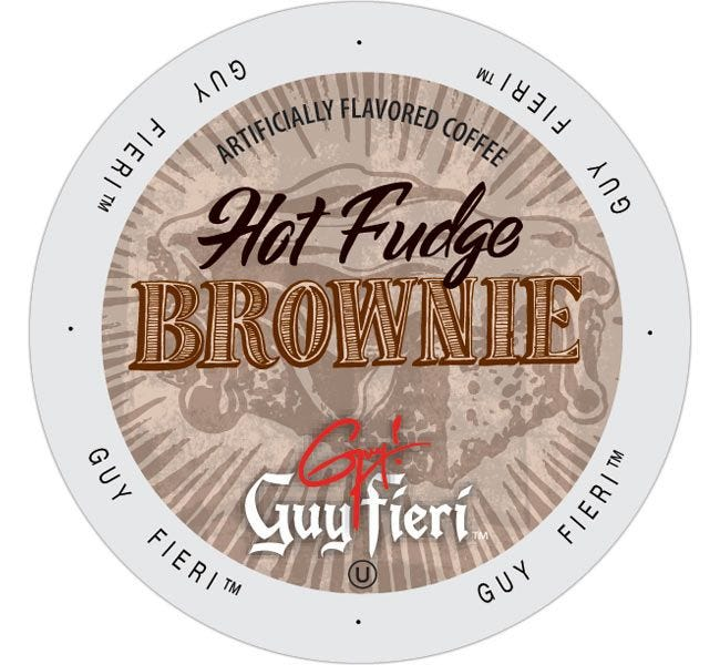 Guy Fieri's Hot Fudge Brownie Medium Roast 24ct