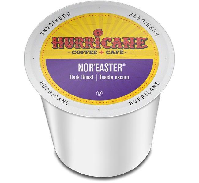 Hurricane Coffee Nor'easter Dark Roast 24ct